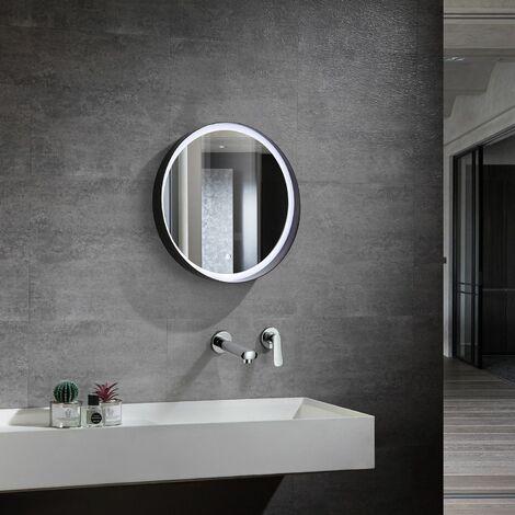 Espejo Decorativo LED con Interruptor Táctil Bali 30W Antivaho Seleccionable (Cálido-Neutro-Frío)