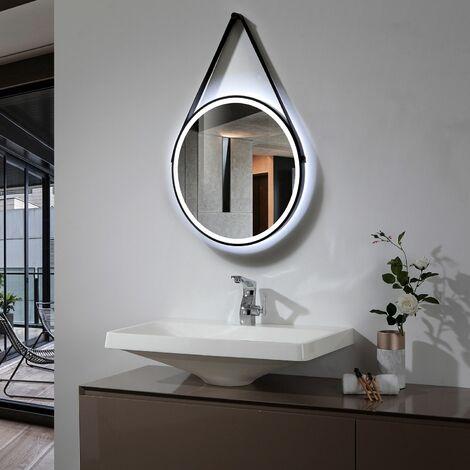 Espejo Decorativo LED Fiyi 40W Antivaho Blanco Frío 6000K - 6500K
