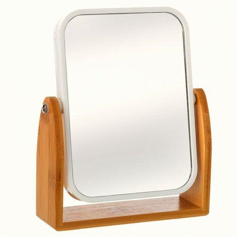 Espejo doble (aumento 2.5x) de Bambú