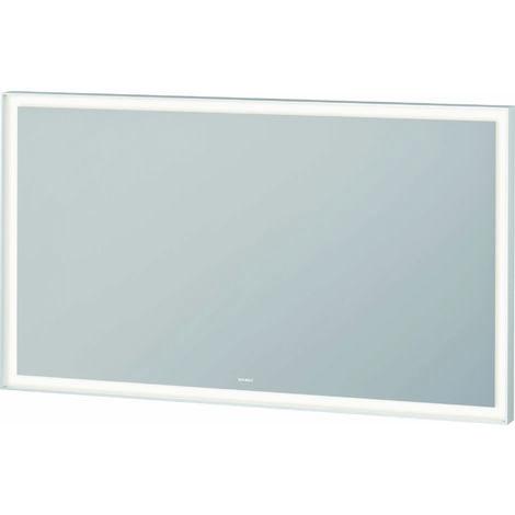 Espejo Duravit L-Cube con iluminación, anchura 1200mm, con módulo LED - LC738300000