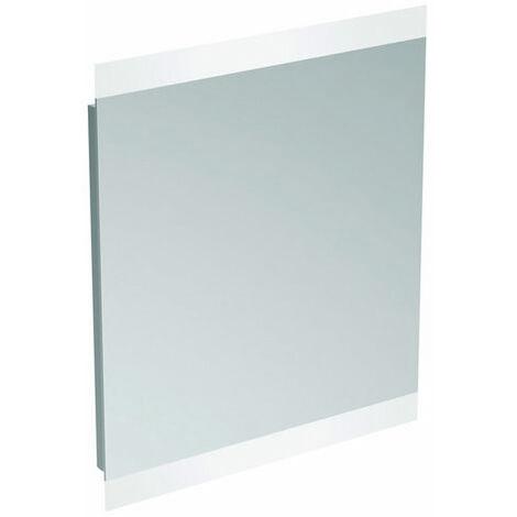 Espejo estándar ideal y espejo de luz T3347BH, luz ambiente de 2 lados 40W, 800 mm - T3347BH