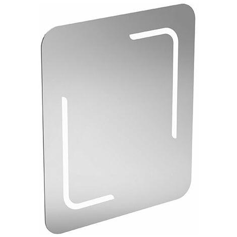 Espejo estándar ideal y espejo de luz T3350BH, con iluminación 40W, con luz ambiente en la parte inferior, 600 mm - T3350BH