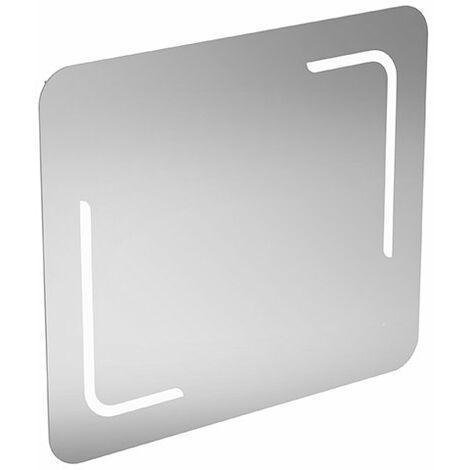 Espejo estándar ideal y espejo de luz T3351BH, con iluminación 40W, con luz ambiente en la parte inferior, 800 mm - T3351BH