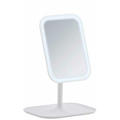 Espejo LED de pie para cosmética Bertiolo