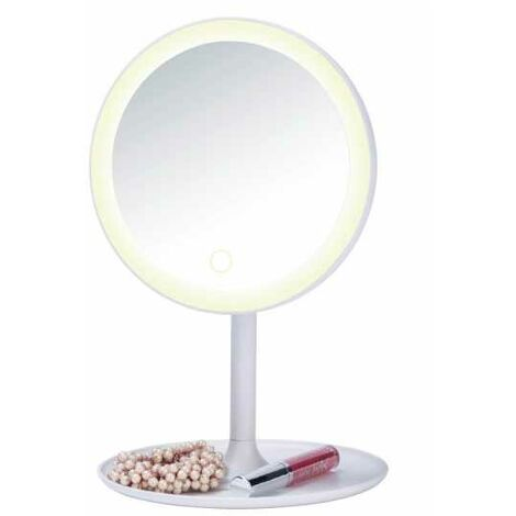 Espejo LED de pie para cosmética Turro