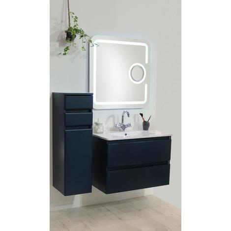 ESPEJO LED MIZAR Dimensiones : 80x80 cm - Aqua +