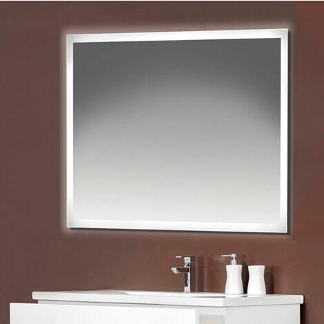 Espejo LED modelo ACTIVO rectangular 60 x 80 cm