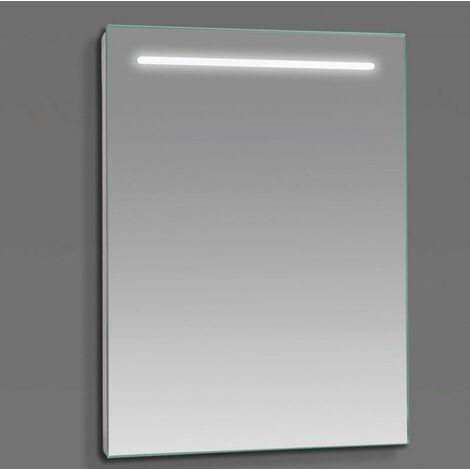 Espejo LED modelo ALTO rectangular 80 x 70 cm