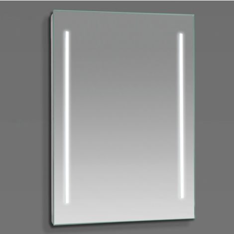 Espejo LED modelo FOCUS rectangular 80 x 60 cm