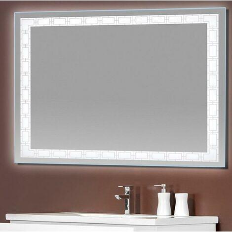 Espejo LED modelo FORMA rectangular 70 x 100 cm