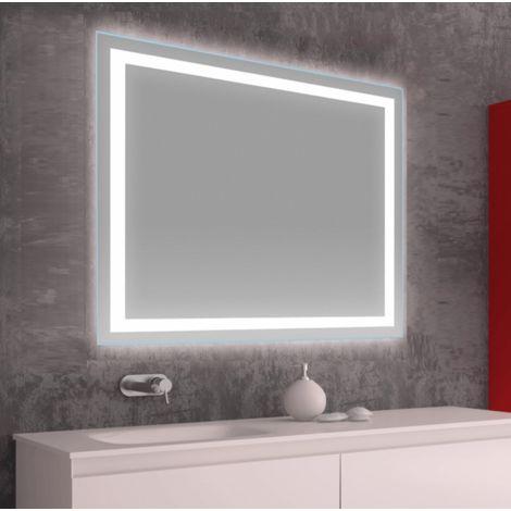 Espejo LED modelo NOVELA rectangular 60 x 80 cm