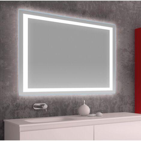 Espejo LED modelo NOVELA rectangular 70 x 80 cm