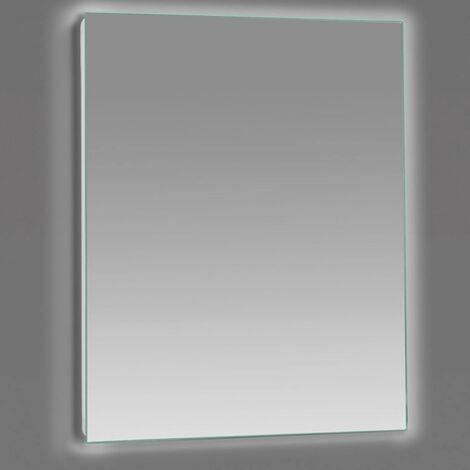 Espejo LED modelo SENSO rectangular 80 x 70 cm