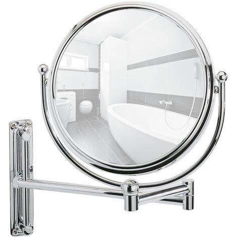 Espejo mural para cosmética con brazo orientable Deluxe WENKO