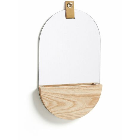 Espejo oval Brant 23 x 38 cm