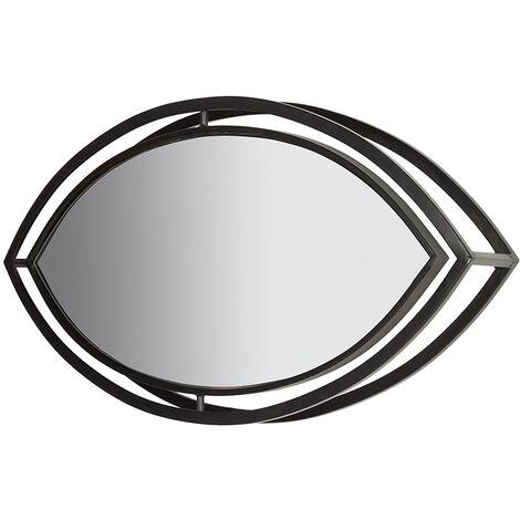 Espejo ovalado industrial 111x10x50 cm