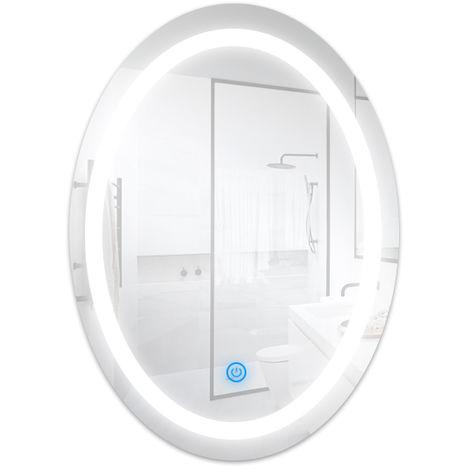 Espejo para Baño LED 15W Ovalado Blanco Frío 6500K | IluminaShop