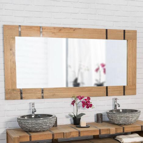 Espejo para cuarto de baño 160 LOFT natural