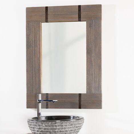 Espejo para cuarto de baño LOFT 60 X 80 gris