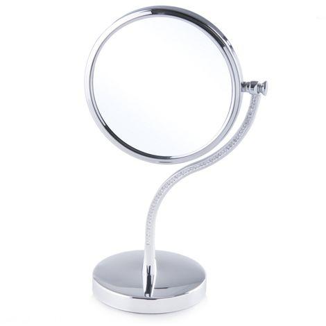 Espejo plateado 15x29 cm OISE
