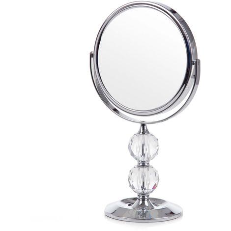 Espejo plateado BARISIS
