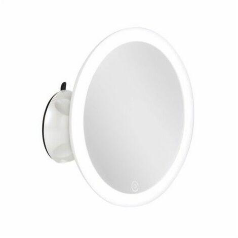 Espejo Portatil Rdo Smartwares Luz Led 5 Aumentos