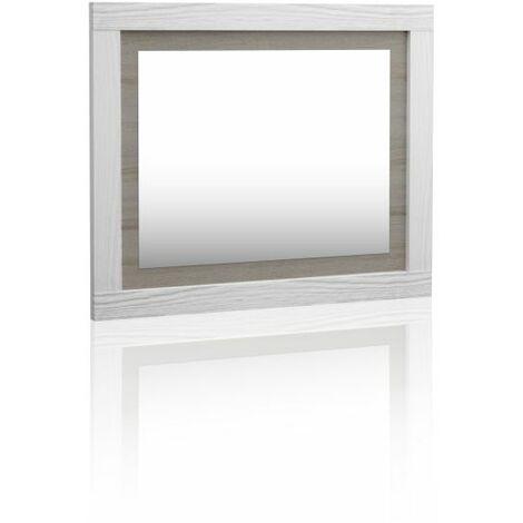 Espejo rectangular Lara - Andersen Pino - Gris