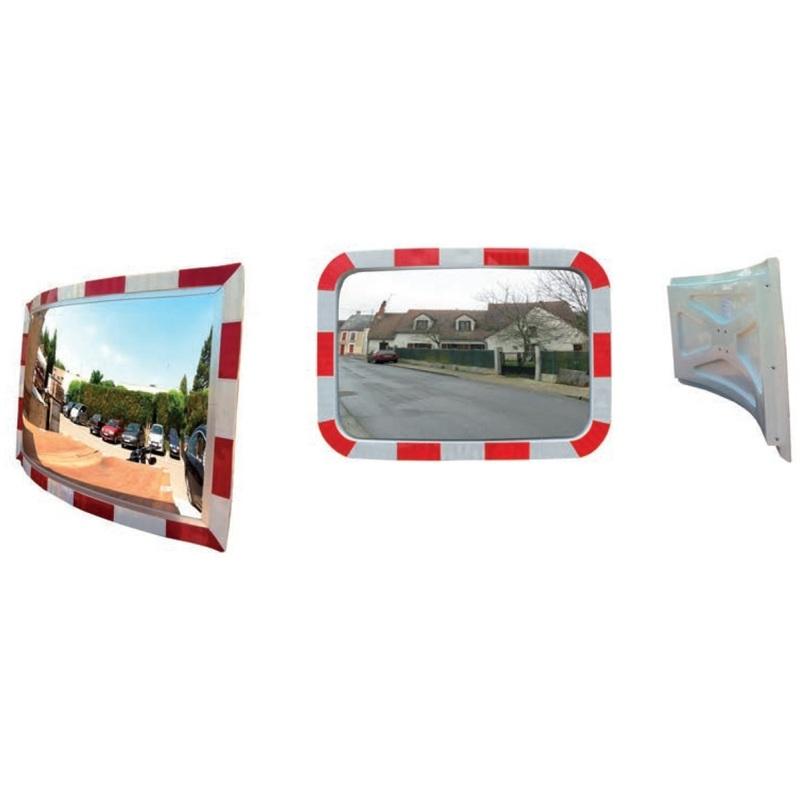 Espejo rectangular. Distancia visión 10m MR3054RB - Metalworks