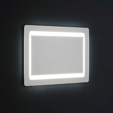 ESPEJO RETROILUMINADO LED CM 60X80 REVERSIBLE