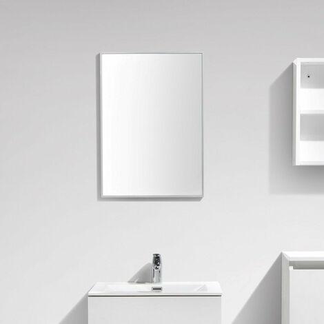 Espejo SIENA 50cm con un marco de aluminio de diseño