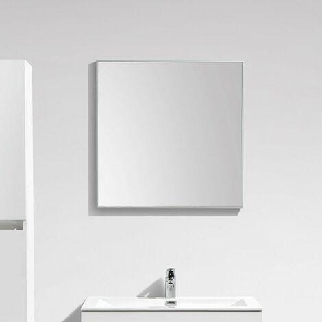 Espejo SIENA 70cm con un marco de aluminio de diseño