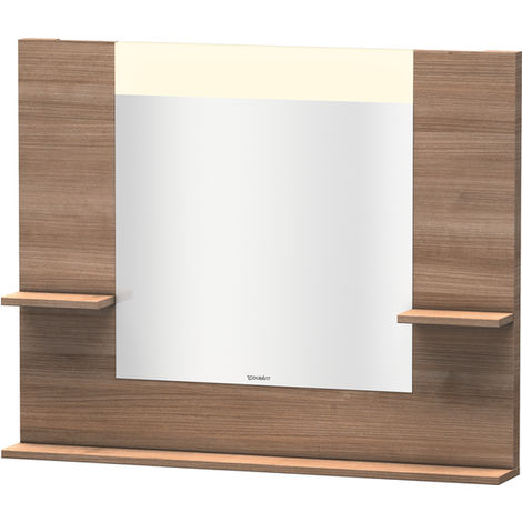 Espejo Vero Duravit con baldas laterales izquierda/derecha e inferior, 7351, 1000mm, Color (frente/cuerpo): Cerezo del Tesino - VE735107373