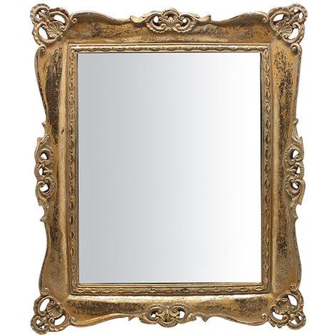 Espejo vertical/horizontal de la superifice y de colgar 28x3x33 cm
