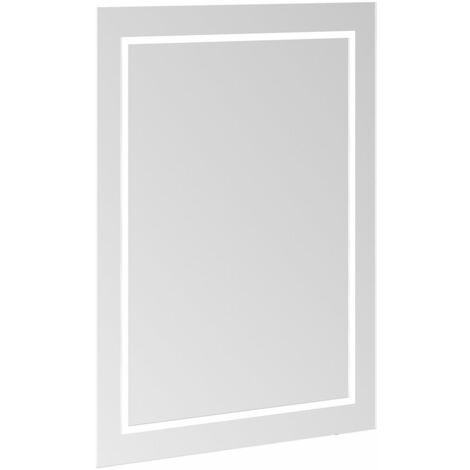 Espejo Villeroy & Boch Finion G61060, 600 x 750 x 45 mm, con iluminación LED, con iluminación de pared, sistema de sonido, calefacción de espejos - G6106000