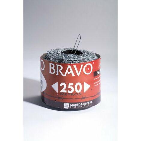 ESPINO BRAVO ETIQ. ROJA 14/08/100 MT.