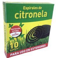 ESPIRALES CITRONELA ANTIMOSQUITOS 10UDS. 359