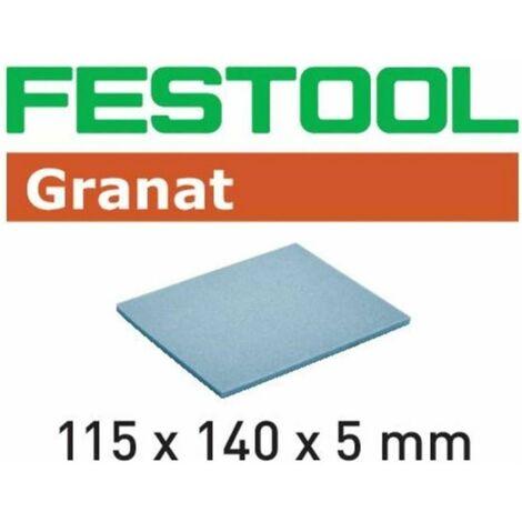 Esponja de lijado 115x140x5 EF 500 GR/20 Festool