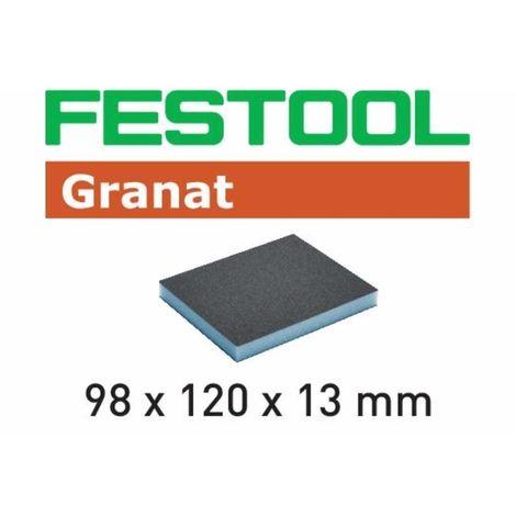 Esponja de lijado plana de grano 120 Granat (1 unidad) Festool