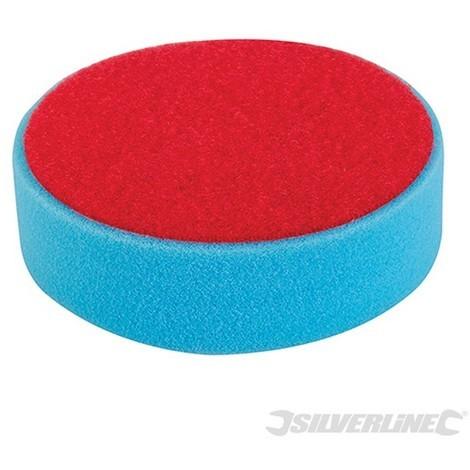 Esponja de pulido autoadherente (150 mm. media. azul)