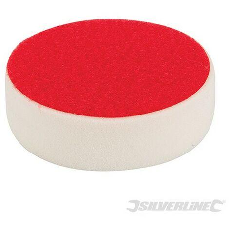 Esponja de pulido autoadherente (150 mm. rígida. blanco)