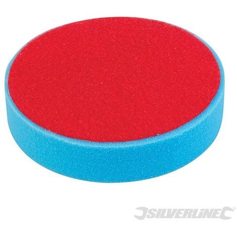 Esponja de pulido autoadherente (180 mm. media. azul)