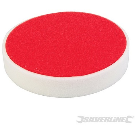 Esponja de pulido autoadherente (180 mm. rígida. blanco)