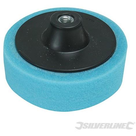 Esponja de pulido M14 (150 mm. media. azul)