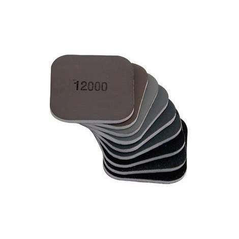 Esponja lijadora 50x50x4 mm, grano 1800 Micro-Mesh