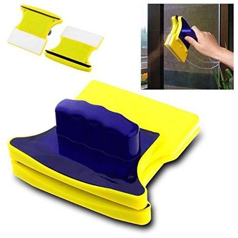Esponja magnética con imanes de doble cara limpiador de ventanas