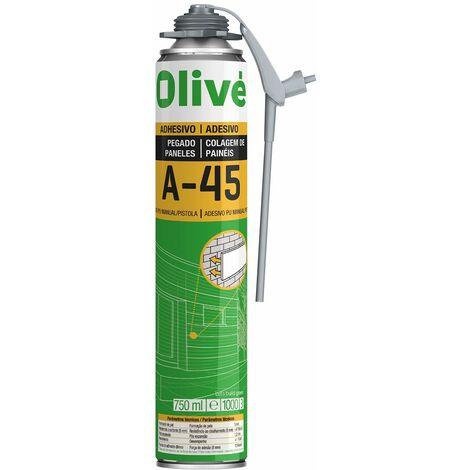 Espuma Adhesiva Instant‡nea OLIVƒ A-45 Pintola y Manual