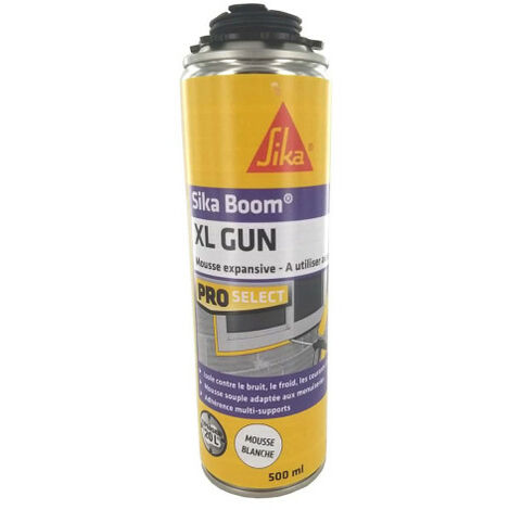 Espuma de poliuretano SIKA Sikaboom - Pistola XL - 500ml - Gris