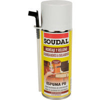 ESPUMA POLIURET. 300ML MANUAL 121651 - SOUDAL - 121651