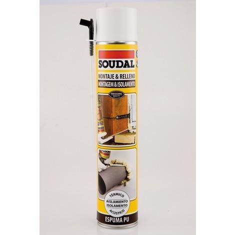 Espuma Poliuret Canula - SOUDAL - 22115797 - 750 ML