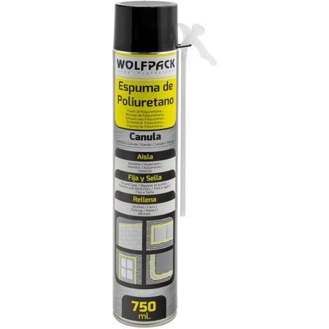Espuma Poliuretano 750 ml. Con Canula